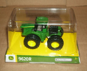 1/87 HO Scale John Deere 9620R 4WD Farm Tractor Diecast Model - Ertl LP68584
