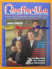 rivista ROCKERILLA 95/1988 Dream Syndicate Frank Zappa Dophin Brothers * NO cd