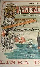 GENOVA_NAPOLI_NGI_NAVIGAZIONE_EMIGRAZIONE_EMIGRANTI IN AMERICA_PLATA_MANILA_1890