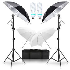 Photography Photo Portrait Studio, Day Light Umbrella Continuous Lighting Kit