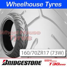 160/70ZR17 (73W) T30 EVO Bridgestone T/L Rear