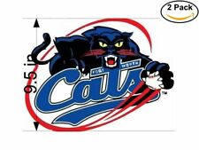 Baseball Fort Worth Cats Logo 2 Stickers 9.5 Inches Sticker Decal