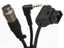 2/3 B4 lens Y-cable VRT Zoom Power Anton Bauer D-TAP 12 Pin Hirose Cable GH3 GH4
