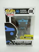 FUNKO POP DC SUPER HEROES WONDER WOMAN 08 GLOWS IN THE DARK GITD EXCLUSIVE