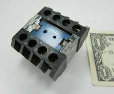 New Fanal Westinghouse Motor Starter Auxiliary Contact Blocks SV1-22, 011124700