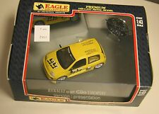 Eagles Race Renualt Clio trophy #99 1:43 die cast model in original box