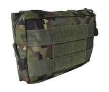 Bolso pouch boscoso pixelado molle rectangular camuflaje militar bolso multiuso