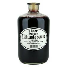 Holunderwein 12,5% 1L in einer Apothekerflasche