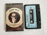 Buddy Holly Golden Greats the original recordings - cassette tape