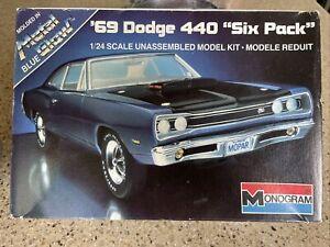 1/24 scale Monogram 69 Dodge 440 plastic model kit