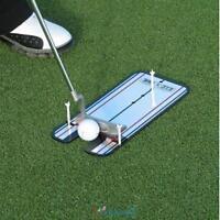 Golf Putting Mirror Training Eyeline Alignment Practice Trainer Aid Portable New
