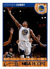 Stephen Curry #124 Hoops Red Backs 2013/14 NBA Basketball Card