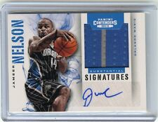 2012-13 CONTENDERS #55 JAMEER NELSON AUTOGRAPH JERSEY #51/99, ORLANDO MAGIC