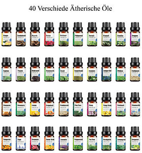 Verschiedene 100% naturreine ätherische Öle 10ml naturrein ätherisches Öl
