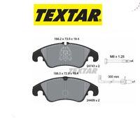 2474301 Kit pastiglie freno a disco ant.Audi (MARCA-TEXTAR)