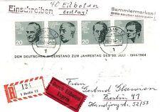 Ungeprüfte Briefmarken aus der BRD (1960-1969) mit Ersttagsbrief