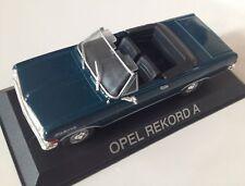 1/43 Opel Rekord A Cabrio Deagostini Poland Warsaw