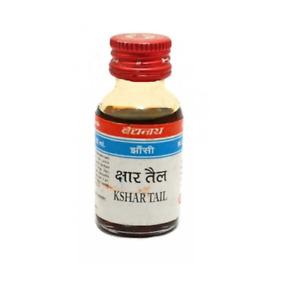 Baidyanath Kshar Tail (25ml) Drop in the Ear, For Otorrhea, Pain, Wax in Ear