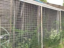 "GALVANISED FENCING  10 X 174"" X 6FT 11 IN TOTAL"