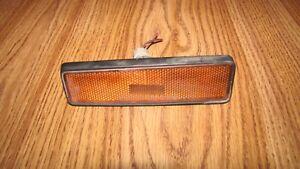 92-98 TRACKER SIDEKICK FRONT SIDE MARKER LIGHT LH OEM DRIVER
