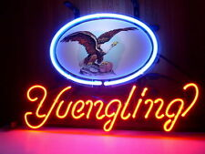 """New Yuengling Eagle Beer Lager Bar Man Cave Neon Sign 20""""x16"""""""