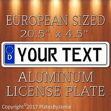 YOUR Custom GERMAN EURO license plate TEXT Custom GERMAN EURO license plate tag