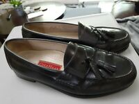 Cole Haan City Loafers Tassel Black Leather Pinch Mens Shoes 3506 Size 10 3E