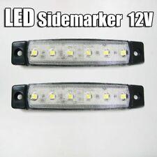 NUOVI 2 x 12V LED BIANCHE LAMPADA POSIZIONE INDICATORE FRECCE PER PEUGEOT BOXER