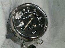 YAMAHA  VIRAGO 125 XV125  CAFE RACER SPEEDOMETER CLOCKS 3100 KMS WITH OVER LAY