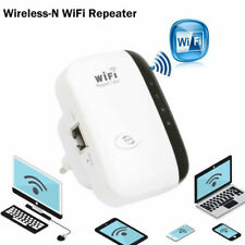 300Mbps Portable 300M Wireless-N Wifi Repeater Signal Booster Amplifier UK Plug