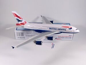 BRITISH AIRWAYS (BA) Airbus A380 Aircraft Model 1:250 Scale Premier Planes NEW