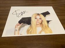 Kesha Ke$ha Reprint Signed Autograph 8X10 Photo RP