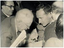 Italia, Proff. Chavez, White e Giordano  Vintage silver print Tirage argentiqu