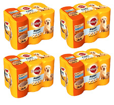 PEDIGREE PUPPY IN JELLY x24 - 400g (6pack x4) - Junior Dog Food Pet Feed bp Meal