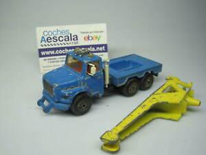 1/64 Majorette USADO USED REF 187 tow truck 1/60 cochesaescala