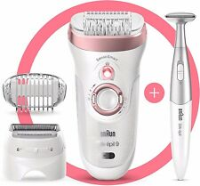Braun Silk-épil 9 9-890 Epilator for Women for Long-Lasting Hair Removal NEW