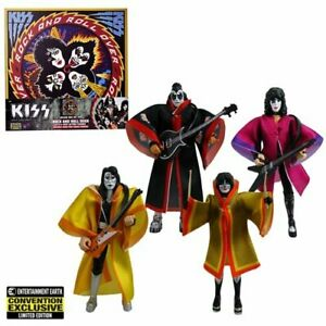 KISS Rock and Roll Over Retro Action Figure Deluxe Box Set SDCC LE 1K -SOLD OUT-