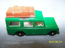 LESNEY MATCHBOX 12C1 SAFARI LAND ROVER BROWN LUGGAGE ~ 1965 #12 C1 ~ NEAR MINT !