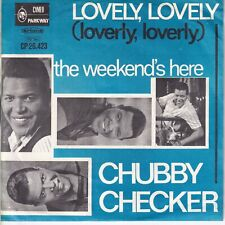 7inch CHUBBY CHECKER lovely lovely HOLLAND EX  (S3251)