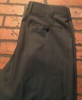 Zanella Todd Flat Front Wool Dress Pants Men's Size 34 x 26