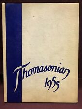 Thomasonian 1955 St. Thomas High School yearbook, Detroit Michigan
