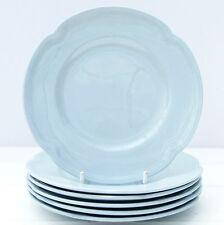 Vintage Johnson Brothers Greydawn Pastel Blue Set 6 Tea Plates