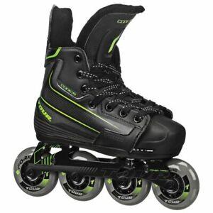 Inline/Roller Hockey Skates Tour Code 9 Adjustable KIDS Sizes (11Y-1) (1-4)
