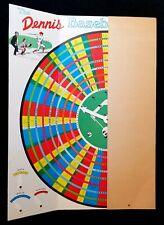 1970 Inaugural Year Riverfront Stadium Reds Baseball Game w- Pete Rose Graphics