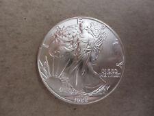 1988 Silver American Eagle Coins BU Uncirculated