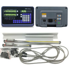 2 Axis Digital Readout Dro Display8amp38 Linear Scale Kit Encoder Mill Lathe Us
