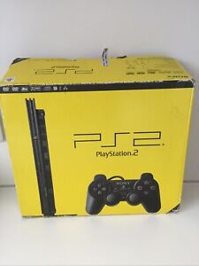 Empty Replacement Sony Playstation 2 PS2 Slim Console Box BOX ONLY