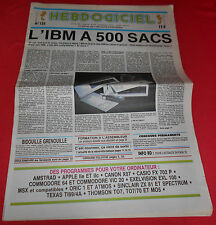 Magazine Hebdogiciel [n°135 16 Mai 86] NO TILT IBM MSX Atari Commodore 64 *JRF*