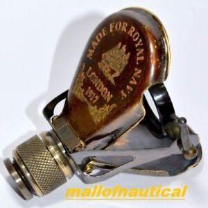 Antique~ 1917 Brass Traveling Telescope Binoculars Monocular