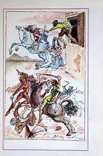 Salvador Dali Lithograph Illustration I   1948